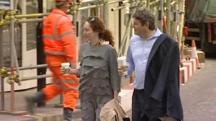 News video: Phone-hacking trial arrivals